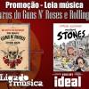 PROMOÇÃO: Ganhe livros do Guns N' Roses e Rolling Stones