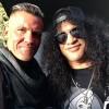 Slash visita set do filme 'Deadpool 2'