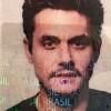 Prestes a desembarcar no Brasil, John Mayer posta foto do visto