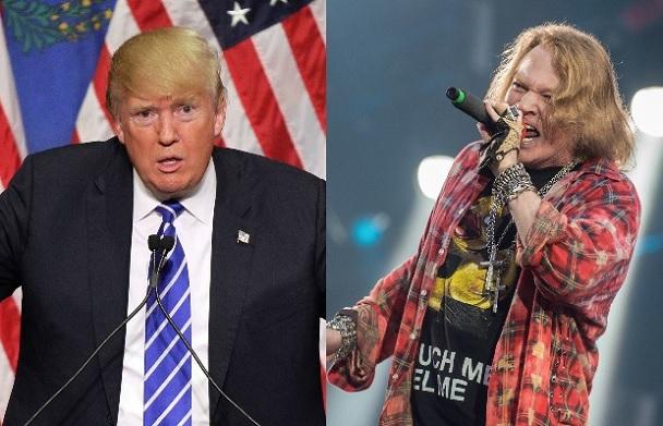 Axl-Rose-Donald-Trump
