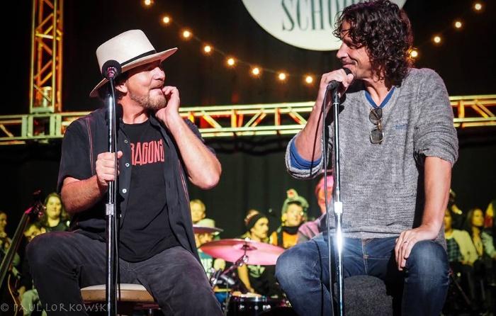 Eddie Vedder And Chris Cornell Sogra de Cornell criti...