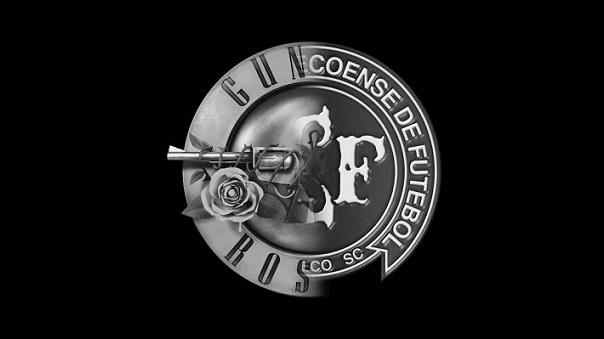 Chapecoense-Guns-N-Roses