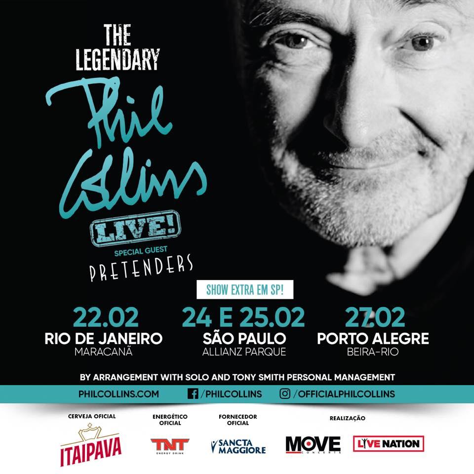 Phil Collins Brasil