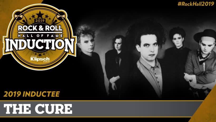 Resultado de imagem para the cure rock and roll hall of fame