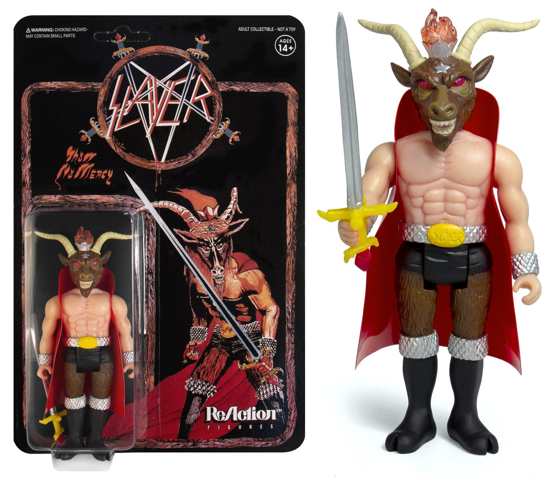 Resultado de imagem para Slayer: lançado boneco do minotauro da capa do Show No Mercy