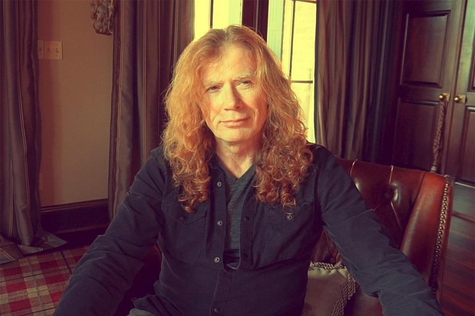 Resultado de imagem para Dave Mustaine conclui tratamento contra câncer de garganta