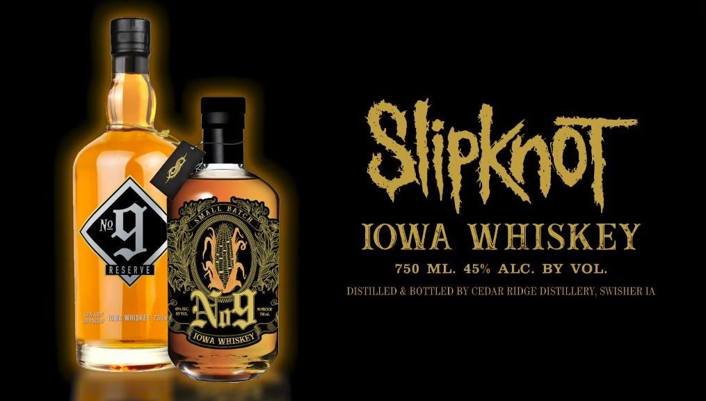 Resultado de imagem para Slipknot anuncia lançamento de seu próprio whisky