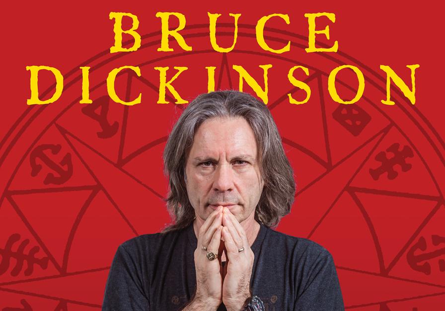 Bruce Dickinson Retorna Ao Brasil Para Palestra Especial Em