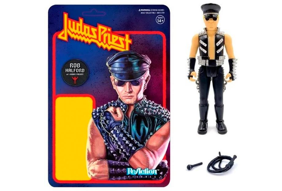 Rob Halford, do Judas Priest, ganha boneco colecionável