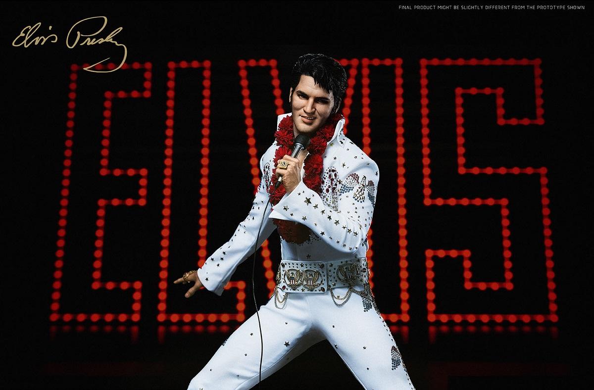 Elvis Presley ganha estátua colecionável de luxo
